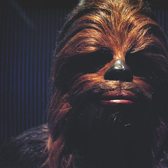day 123 (Randomographer) Tags: project365 peter mayhew chewbacca starwars star wars scifi character actor costume furry hairy beloved hero 365 2019 123