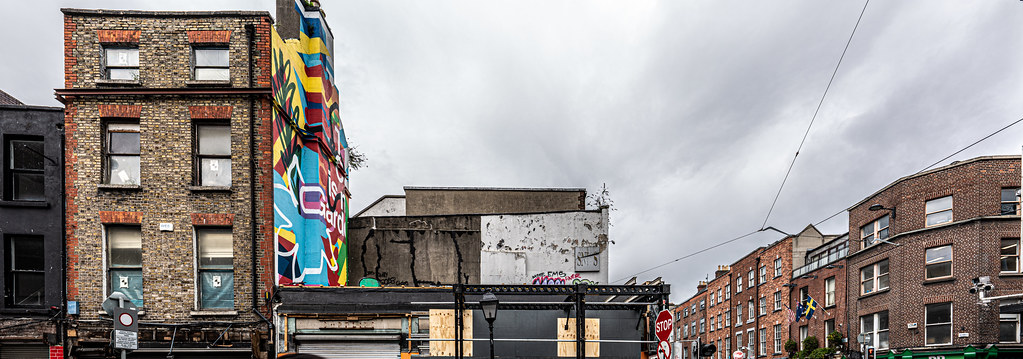 HERE THERE WILL BE A LARGE HOTEL [LIFFEY STREET - ABBEY STREET]-152112