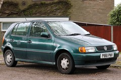 P861 PNV (Nivek.Old.Gold) Tags: 1997 volkswagen polo 14 cl 5door wayside letchworth