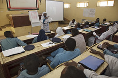 UNAMID Officer Participates in Course for Sudanese Prison Staff (United Nations Peacekeeping) Tags: darfur sudan