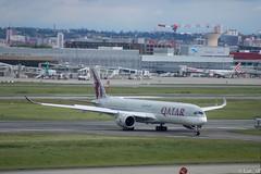 A350 Qatar (Luc_slf) Tags: a350 qatar airbus toulouseairport toulouse blagnac aéronautique aeronautics