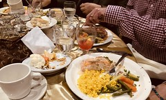 #Dinner with #friends and #family  in #SanFrancisco (Σταύρος) Tags: salmondinner salmon glassofwater thecity yellowrice tablesetting dinner friends family sanfrancisco sf city sfist санфранциско sãofrancisco saofrancisco サンフランシスコ 샌프란시스코 聖弗朗西斯科 norcal cali سانفرانسيسكو