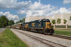 Standard 50 on Q211 (travisnewman100) Tags: csx train railroad rr freight unit autoracks wa subdivision atlanta division cartersville georgia yn3 yn2 ge emd sd502 ac44cw q211