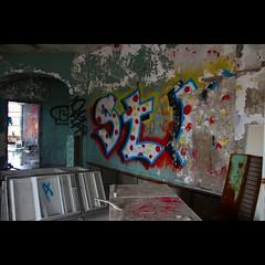 Abandoned Graff (CaptJackSavvy) Tags: graffiti graffti urbandecay urbanexploration urbanspelunking urbanex urbex decay old abandonedbuilding abandoned trespassing