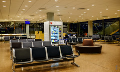 Waiting area by the gate (A. Wee) Tags: sweden 瑞典 stockholm 斯德哥尔摩 arlanda airport arn 机场