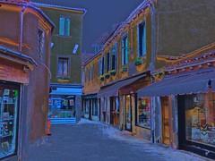 Venice Italy At Dusk (glenn2meyer) Tags: back streets venice italy dusk colorful sony a6000 travel vacation