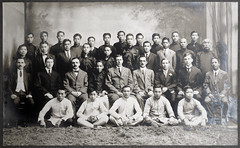 Portrait Holland-China Trading Company staff, Hong Kong office, 1918 (Charles in Shanghai) Tags: charles shanghai holland china trading company handelscompagnie hchc hong kong hongkong harbour blackandwhite bw monochrome stadsarchief rotterdam httpwwwstadsarchiefrotterdamnlen gwulo happyplanet asiafavorites
