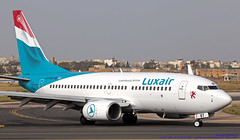 LX-LBT LMML 04-05-2019 Luxair - Luxembourg Airlines Boeing 737-7K2 cn 3037 (Burmarrad (Mark) Camenzuli Thank you for the 18.9) Tags: lxlbt lmml 04052019 luxair luxembourg airlines boeing 7377k2 cn 3037