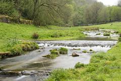 Weir - Youlgrave (Kingsley_Allison) Tags: youlgrave peakdistrict derbyshire bakewell riverbradford walkers ramblers weir nikon d7200 bradforddale