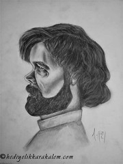 Tyrion Lannister Drawing | Sketching | Karakalem (hediyelikkarakalem) Tags: charcoal charcoaldrawing drawings draw image pictures illustration graphics paintings sketching pencildrawing art myart graphic creative portrait abstractart life love realism cool awesome beautiful sketchbook artist lifestyle europe usa design birthday