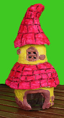 My new creation!!! :-) (Argyro Poursanidou) Tags: diy fairy house home creation handmade craft