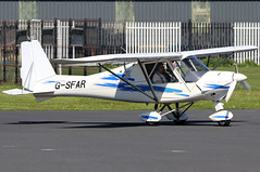 G-SFAR_01 (GH@BHD) Tags: gsfar comco ikarus comcoikarus c42 c42fb100 newtownardsairfield newtownards ulsterflyingclub microlight aircraft aviation
