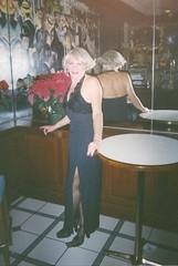 Laurette In The Evening, 2001 Version (Laurette Victoria) Tags: mirror blonde woman laurette milwaukee