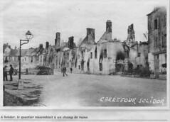 Documents sur les destructions à Saint-Malo pendant la dernière guerre