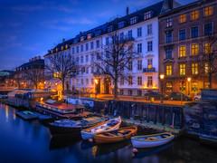 Frederiksholm kanal (ibjfoto) Tags: blåtime city cityscape copenhagen danmark denmark frederiksholmkanal ibjensen ibjfoto københavn urban urbanlandscapes canalbluehour