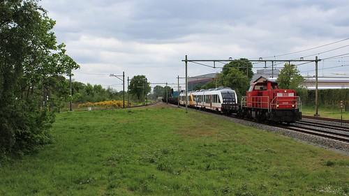 DBC 6469 met LINT 35+23 - Barneveld Noord [NL]