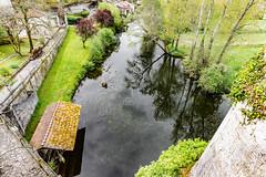 12-Au pied des remparts coule la Dronne (Alain COSTE) Tags: 2019 bourdeilles dordogne dronne lavoir nikon ocb périgordvert rivière sigma20mmf14 printemps village france