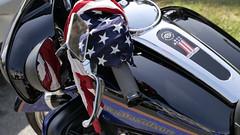 Easy Rider.jpg (remiklitsch) Tags: flag motorcycle harley harleydavidson movie la losangeles city street urban leica remiklitsch mirror stars stripes handlebars red white blue