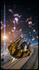 Voyage Through Space (nicksoptima) Tags: everspace spaceship space scifi screenshot ps4