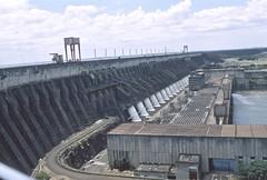 Itaipu Dam (vincenzooli) Tags: fujiprovia nikonf6 film parana river