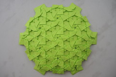 Hex Crossing (Arseni Ko) Tags: origami tesselation paper design geometry symmetry pattern
