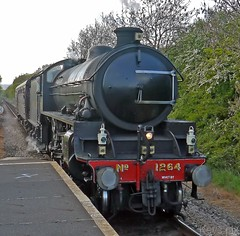 LNER Thompson Class B1 (6)1264-09 (Kev's.Pix) Tags: steamtrain steamlocomotives train steamengine gypsylane station northyorksmoorsrailway thompsonb1 teesside