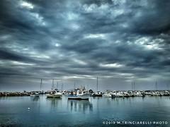 Porticciolo di Vada (LI) (. ..::..::::....:::::m.trinciarelli photo::..:..) Tags: maredinverno barca porto toscana fotoconilcellulare