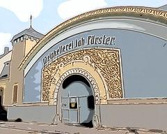 Jugendstil Weinkellerei (Jörg Paul Kaspari) Tags: trier weinkellerei jugendstil illustration turm