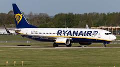 Ryanair EI-FRD 737-8AS EGCC 04.05.2019 (airplanes_uk) Tags: 04052019 737 aviation boeing eifrd man manchesterairport planes ryanair