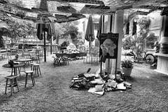 Creative with books @ Hostal L'Estrella (Gerard Koopman) Tags: books hostallestrella palafrugell