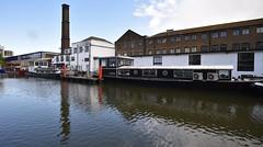 Interesting Mix ,Regent's Canal (rq uk) Tags: rquk nikon d750 limehousebasintocamdenlock regentscanal nikond750 afsnikkor1835mmf3545ged moored boats buildings