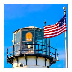 Chatham Light (Timothy Valentine) Tags: capecod 0419 large lighthouse flag 2019 sliderssunday chatham massachusetts unitedstatesofamerica