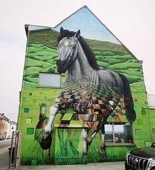 #Ghent update : great new #horses #mural by #CeePil. . #Gent #streetart #urbanart #graffitiart #streetartbelgium #graffitibelgium #visitgent #muralart #streetartlovers #graffitiart_daily #streetarteverywhere #streetart_daily #ilovestreetart #igersstreetar (Ferdinand 'Ferre' Feys) Tags: instagram gent ghent gand belgium belgique belgië streetart artdelarue graffitiart graffiti graff urbanart urbanarte arteurbano ferdinandfeys ceepil