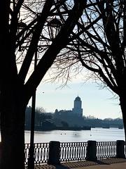 Vyborg Castle (Zunkkis) Tags: vyborg vyborgcastle russia castle branch tree view