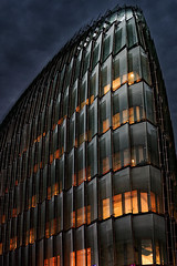 Galeo Bouygues Immobilier Issy les moulineaux (freephysique) Tags: galeo bouygues immobilier issy les moulineaux office building france nuit night