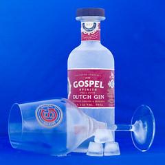 Product Gospel Dutch Gin (Hans van der Boom) Tags: product gospel dutch gin liquor alcohol stido cold ice bottel glass