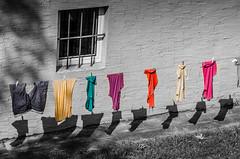 Wäsche in Rothenburg o.T (markus.eymann@hotmail.ch) Tags: selektivefarbe grau rothenburgobdertauber bayern deutschland katalog