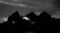 Anonymous Sunrise (Frédéric Fossard) Tags: art abstrait surréaliste monochrome noiretblanc blackandwhite surreal abstract silhouette lumière light ombre shadow cimes crêtes arêtes montagne mountain alpes hautesavoie aiguillesdechamonix massifdumontblanc mountainpeak glacier matin morning texture alpenglow mountainridge paysage landscape mountainscape ciel nuage sky cloud leverdujour sunrise contraste