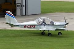 EV-97 Eurostar G-CEFZ (Gavin Livsey) Tags: sywell eurostar ev97 gcefz