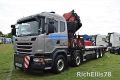 (richellis1978) Tags: truck lorry haulage transport logistics show truckfest peterbrough scania mdb becker yj66dkv