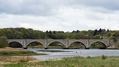 Don Bridge (syf22) Tags: aberdeen scotland nescotland bridge arches river riverdon donmonuth water flow crossing stone stonebuild granite rock igneous structure road