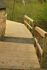 Widened boardwalk