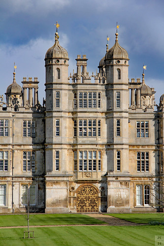 Burghley House's West Front