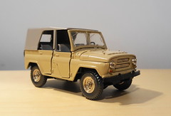 1977 UAZ 469 (HO scale trams 43rd scale cars) Tags: diecast russian model car 143scale uaz469 1977 tantal