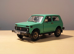 1990 Lada Niva (HO scale trams 43rd scale cars) Tags: diecast russian model car 143scale 1990 ladaniva agat tantal