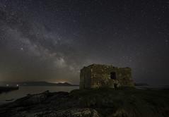 Ballinskelligs Castle Milky Way (Paul O'B) Tags: milkyway ballinskelligs castle stars astro astrophotography ireland offshoot beach nightscape afterdark ngc