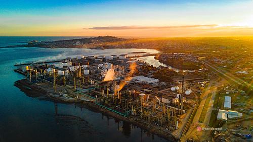 La Teja oil refinery