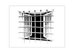 open window - no escape (Armin Fuchs) Tags: arminfuchs würzburg lavillelaplusdangereuse window open fence huawei smartphone curtain