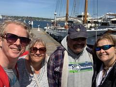 05052019-42 (Fruitcake Enterprises) Tags: centerforwoodenboats thecenterforwoodenboats seattle lakeunion birthweek lavengro matthew shauna bill nancyg