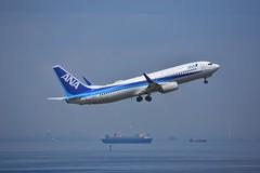 B737-800 (yuki_alm_misa) Tags: b737 b737800 boeing aircraft plane 東京国際空港 航空機 羽田 飛行機 rjtt hnd 羽田空港 haneda airplane aeroplane tokyointernationalairport